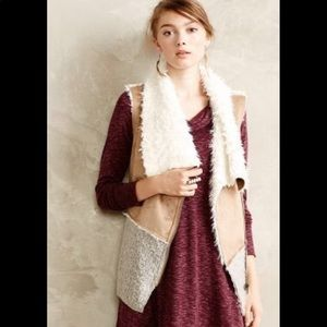 Anthropologie vest, great condition!!